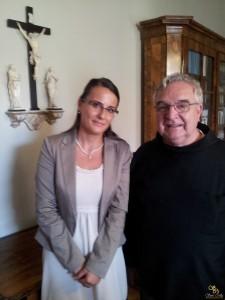 Látogatóban, Várszegi Asztrik Pannonhalmi Főapát Úrnál