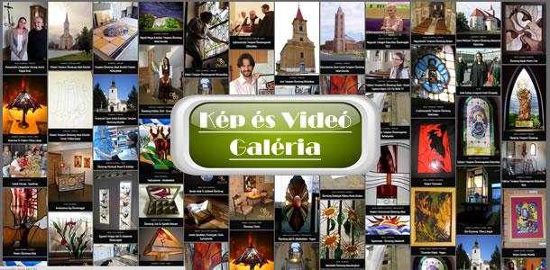 Ólomüveg Képek és Videók - Galéria